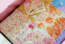 quilts of vintage sheets