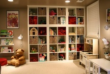 Home - Storage Ideas / Storage rooms, storage spaces, storage shelves, and lots of other samples for storing things in a home.