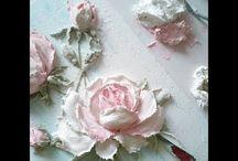Flores en pasta