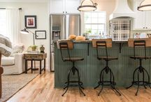 Farm House Style / is Farm House style the new shabby chic?  Well, it certainly can stand on its own.  Some elements are found in both.  Rustic charm and love for the antique look make this style a wonderful choice for your home.