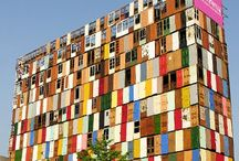 Recycled... / ...architecture that was once something else. / by Building Trust