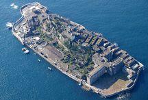 "The hottest ruins ""Hashima Land""!"