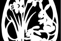 Easter Paper Cutting/Velikonoční vystřihovánky