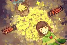 undertale FRİSK AND CHARA