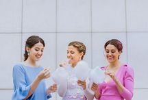 Disoñando Bodas - Sugar Bride / Editorial de bodas. Novia e invitadas