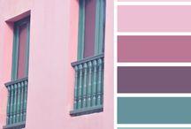 Colores / Paletas de colores para inspirarse.