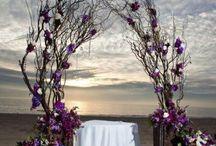 Свадебные арки / Арки разных свадебных стилей.
