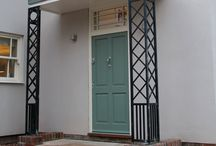 Timber Entrance Doors / A lovely range of bespoke timber front and back doors from Bereco.
