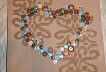 Button Art Ideas / by Patty Hanson