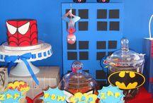 Fiestas super héroes