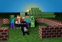Minecraft / Minecraft'ı çılgınca oynayanların bölümü.Bu bölümde minecraft ile alakalı 5 tane resim var ve içlerinde birşeyler gizli.Keşfedin!