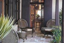 Patio Area - indoor/outdoor