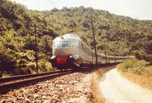vlaky - Itálie