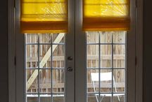 curtains and roman shades / by Heather Gibson