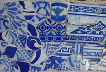 Decorative Tiles & Mosaics / Patterns and design found on travels around the world / by Button Love (Candice)