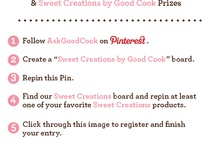 Sweet Creations By Good Cook / by Lisa Garner
