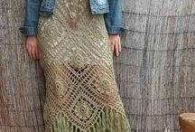 bestidos al crochet