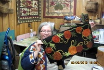 Wool Applique Projects / Wool, the best thing to applique with! So fun, easy, and enjoyable. Give it a try if you haven't! / by The Hen House Quilt Shop