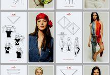 1000 foulard