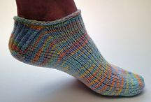 Socquettes et chaussettes en tricot