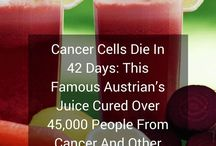 Cancer recipes - Juices and more