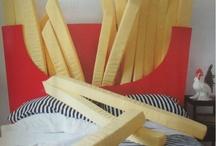 letto patatine fritte