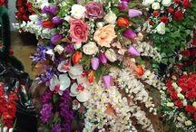 Дизайнерские похоронные венки