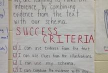 Success criteria/learn goal