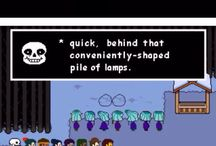 Undertale / A game created by Toby Fox