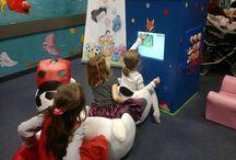 Interaktywne kąciki do sali zabaw / Interaktywna rozrywka dla najmłodszych w sali zabaw