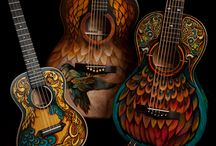 Painted Guitars