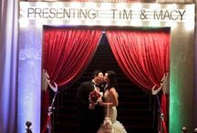 Theater Wedding / Ideas for having a wedding in a theater.  Get married in Oceanside.  www.visitoceanside.org/weddings