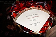 Ceremony stationery / Beautiful ideas and themes for your wedding day. Starting from your save the date cards to orders of service and table cards.