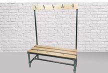 vestable  , hallway utility room , rustic furniture