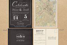 #wedding invite / inspirações ♥