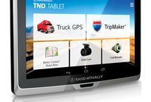 Trucker GPS Navigation Systems / GPS navigation systems specifically made for truck drivers.