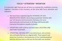 SUM OF WE with Brevity Wave Meditations / Summary recap of our CO-CREATIVE MEDITATION JOURNEYS experienced at The Pilates Group in Steveston Village every Friday & Sunday night @ 7pm