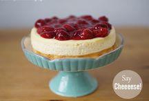 Käsekuchen/Cheesecakes in allen Varianten / Hier findet ihr jede Menge Varianten von Käsekuchen und Cheesecakes