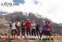 Mount Kilimanjaro Climbing/ 5 Days Marangu Route with our Professional Guides