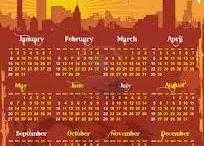 Calendar Inspiration / Urban/Retro/Elegant / by La'ti