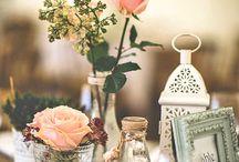 Винтажная свадьба. Декор