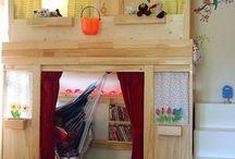 Kids Cafe - play area idea