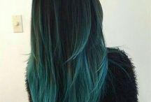 fryzury cieniowanie