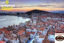 Horvátországi szigetek