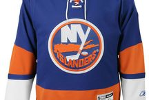 New York Islanders - Official NHL Hockey Jerseys / We are the leading manufacturer of professional sports lettering & numbering and we have been selling officially licensed NHL jerseys and apparel via the internet since 1999. Visit: CoolHockey.com for more!