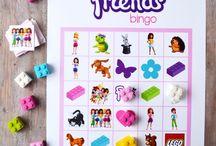 Eva Lego Friends Party