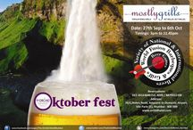 Oktoberfest at 'Mostly Grills' @ The Orchid Hotel, Mumbai / Mostly Grill, the roof top barbecue restaurant at The Orchid will be celebrating the traditional German festival- Oktober fest. The fest kick started on September 27th and will continue till October 6th. / by The Orchid Hotel, Mumbai