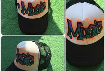 Black Monkeyz HATS / Handmade..