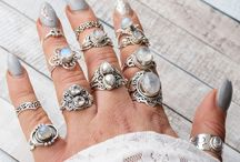 Boho rings / All about those Bohemian / hippy / boho rings