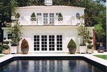 Pool / Pool House / by PinterestEK